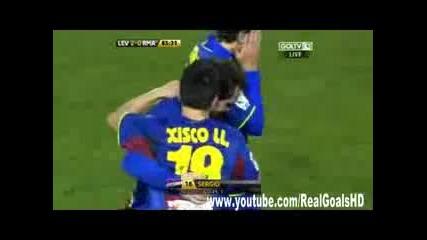 Леванте 2:0 Реал Мадрид (купата на краля)
