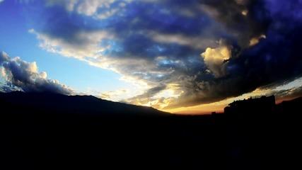 Sofia Sunset - Nikon D5100 - AF DX Fisheye-Nikkor 10.5mm f-2.8G ED