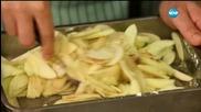 Постен ябълков кръмбъл - Бон апети (30.11.2015)