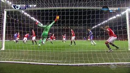 Манчестър Юнайтед - Челси 0:0 /Първо полувреме/