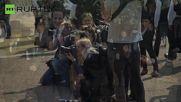 Flashmob Demands that PM Cameron Confronts 'Artful Tax Dodgers'