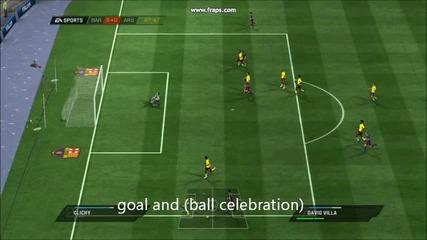 fifa 11 i fifa 12 (goal and celebration)