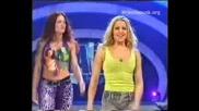 Wwe Lita & Trish Преди Мача На Invasion 2001