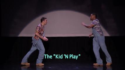 Еволюцията на хип-хоп танците с Will Smith & Jimmy Fallon