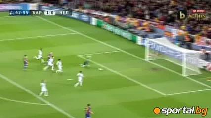 Chelsea 2 : 2 Barca Полуфинал на Шампионска Лига общ резултат 3:2