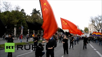 Spain: Protests grip Madrid on 84th anniversary of Second Republic