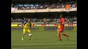 10.05 Киево - Интер 2:2 Марколини супер гол