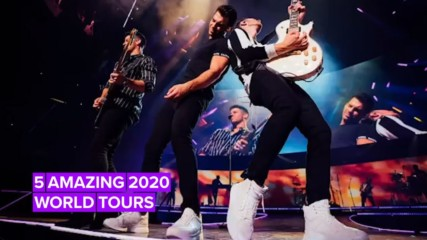 World Tours to grab tickets to in 2020