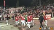 Публиката на мача Ц С К А 1 - 0 Берое   28.03.2012   Шампион е, шампион е, шампион е Ц С К А