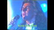 Modern Talking - Keep Love Alive (+Lyrics) Live 1986