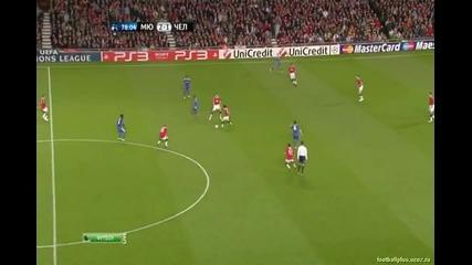 12.04.2011 - Шампионска лига - Манчестър Юнайтед 2 - 1 Челси гол на Джи - Сунг Парк