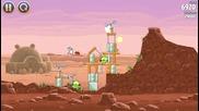 Angry Birds Нова поредица Епизод 3 (минавам само по 1 ниво)