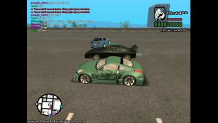 Gta San Andreas Multiplayer Drift race and drag