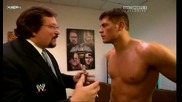 Raw 07/06/09 ~ Million Dollar Man ~ Ted Dibiase & Cody Rhodes [backstage]