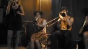 Tuba Skinny New Orleans Hot Jazz Band perform at Barbes in New York City