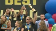New York to Fete Women's World Cup Soccer Champs With Parade