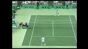 Тенис класика : Бекер - Агаси (плонж на Бекер)