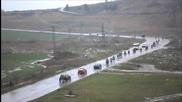 Проливния дъжд не успя да спре мотористи от Ямбол