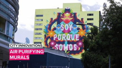 City Innovations: This art is breathing life into Mexico City