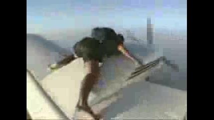 Много Опасен Скок С Парашут