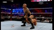 Скалата и Джон Сина срещу Миз/r-truth (wwe Survivor Series 2011) - Част 2
