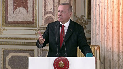 Turkey: Erdogan vows to continue Syria offensive and not to 'step back'