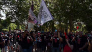 Spain: Nissan workers protest Barcelona factory closure during Madrid demo
