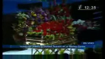 Memorial Service of Michael Jackson