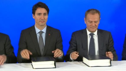 Belgium: EU and Canada sign CETA trade deal