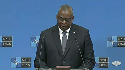 Belgium: Pentagon chief pledges commitment to defending NATO, Taiwan, and EU allies