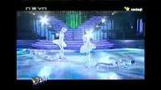vip dance Йордан Йовчев, Тереза Маринова, Ралица Мерджанова и Димитър Божилов - хип хоп танц