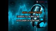 Deep Purple - Soldier Of Fortune (karaoke)