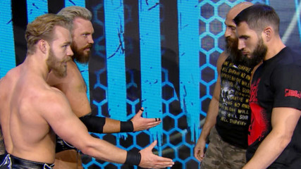 #DIY and Moustache Mountain show respect ahead of Worlds Collide: WWE.com Exclusive, Jan. 22, 2020