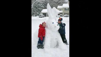 Снежен човек - детска песничка