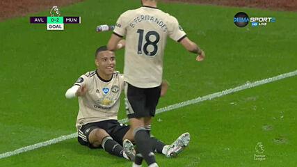 Астън Вила - Манчестър Юнайтед 0:3 /репортаж/