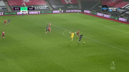 Саутхемптън - Арсенал 1:2 /първо полувреме/