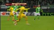 Волфсбург 2 - 0 Спортинг (лисабон) ( 19/02/2015 ) ( лига европа )