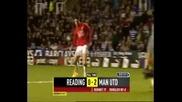 Всичките гола които е вкарвал Кристиано Роналдо за Манчестър Юнайтед част 2
