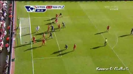 Манчестър Юнайтед 1 - 1 Ливърпул Чичарито Гол *hq*