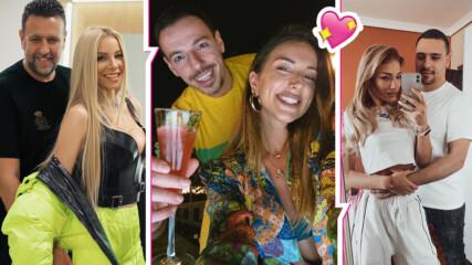 Св. Валентин и популярните BG двойки: Топли думи на любов, скандали и... бременност?