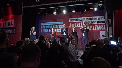 Germany: Linke's Wissler acknowledges 'difficult evening' after 'significant losses'