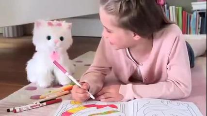 Интерактивно светещо котe Спаркъл от Patilanci.bg