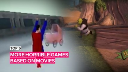 5 more horrible games based on movies