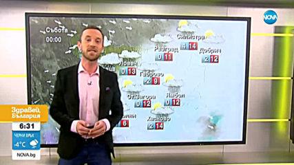 Прогноза за времето (27.02.2020 - сутрешна)