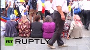Moldova: Chisinau activists rally for a union of Romania and Moldova