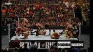 Двойно Задушаващо Тръшване От Братята На Смърта The Undertaker And Kane [royal Rumble 2009]