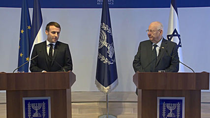 Israel: Macron says denying Israel statehood is 'anti-Semitism'