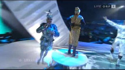 Verka Serduchka - Ukraine - Dancing lasha Tumbai (live at Eurovision 2007)
