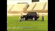 Зрелищна футболна тренировка !