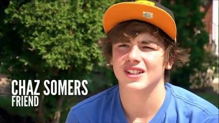 Justin Bieber Never Say Never Movie - Джъстин и приятели Official (hd)